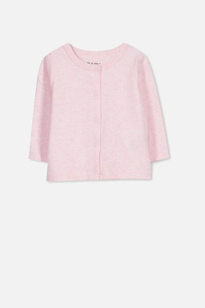 The Baby Cardigan, PINK MARLE