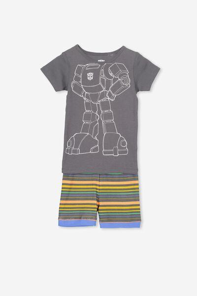 Joshua Short Sleeve Pyjama Set, LCN I AM OPTIMUS PRIME