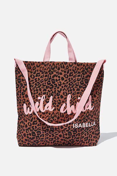 Personalised Tote Bag, ANIMAL PRINT