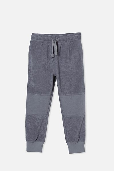 Marlo Trackpant, STEEL/TERRY TOWELLING