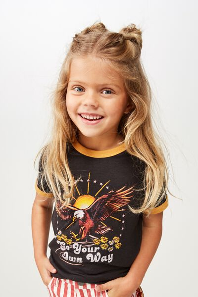 3437d3d3f Girls Tops, T shirts, Short Sleeve, Disney Graphic | Cotton On Kids ...