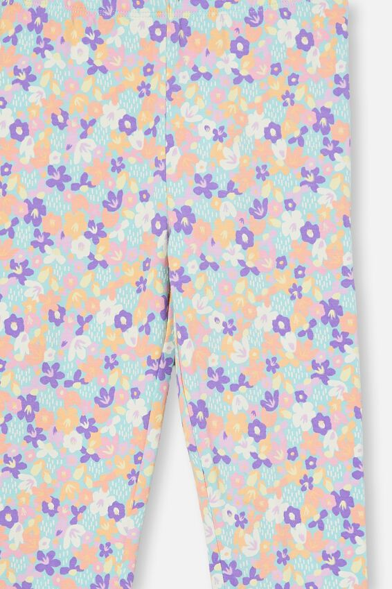 Huggie Tights, DREAM BLUE/PAPERCUT FLORAL