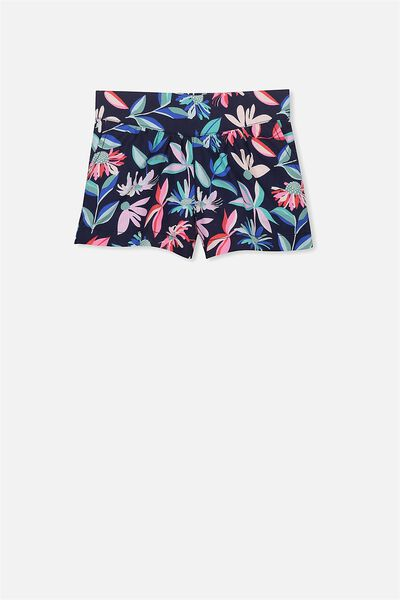 Callie Short, PEACOAT/FOCAL FLORAL PRINT