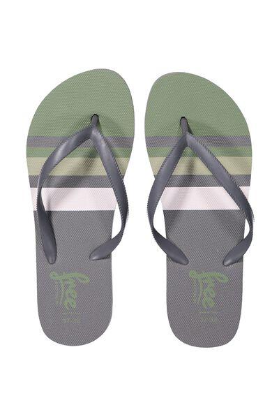 Free Flip Flops, B CLIVE GREEN STRIP