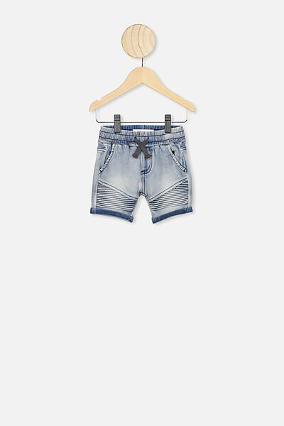 Jay Moto Short, DENIM WASH