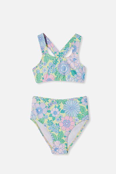 Penny Bikini, LEMON DROP/RETRO FLORAL