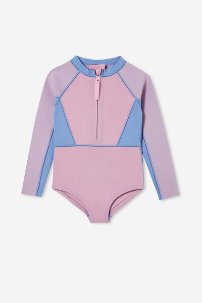 Tallow Wetsuit One Piece, CALI PINK