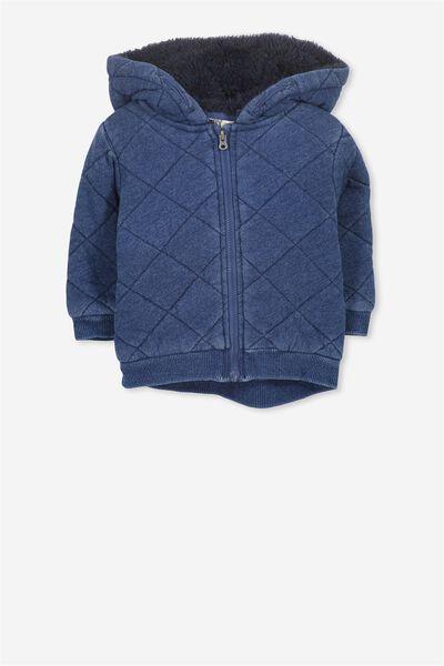 Marcus Jacket, INDIGO BLUE