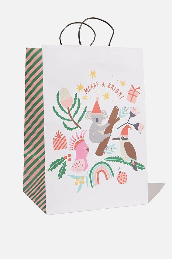Christmas Gift Bag - Large, AUSTRALIANA