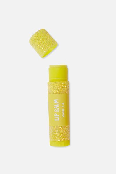 Lip Balm Star Dust, YELLOW VANILLA