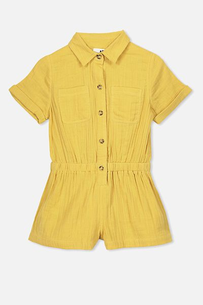 Bonnie Playsuit, HONEY GOLD