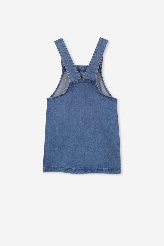 Summer Pinafore, MID WASH