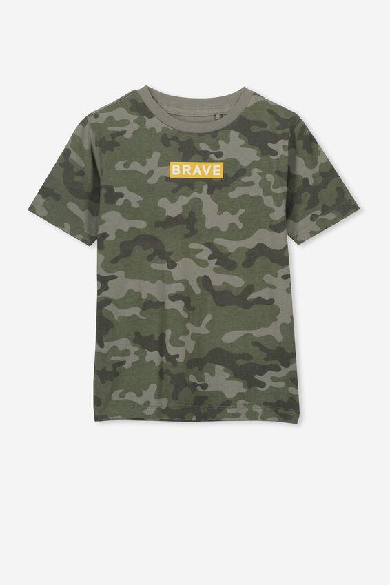 Max Skater Short Sleeve Tee, CAMO/BRAVE