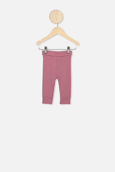 The Rib Legging, VINTAGE BERRY