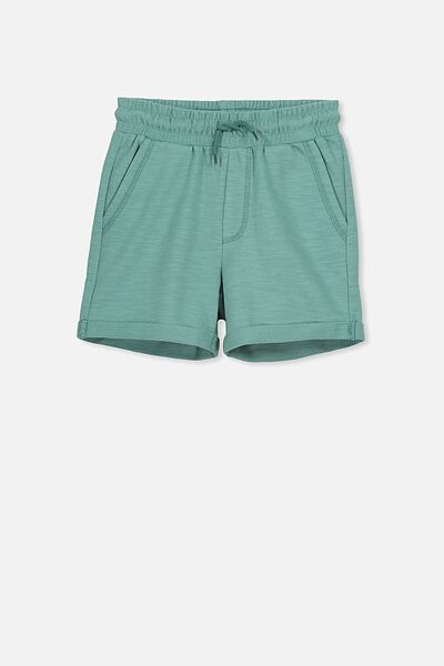 Henry Slouch Short, WASHED GREEN