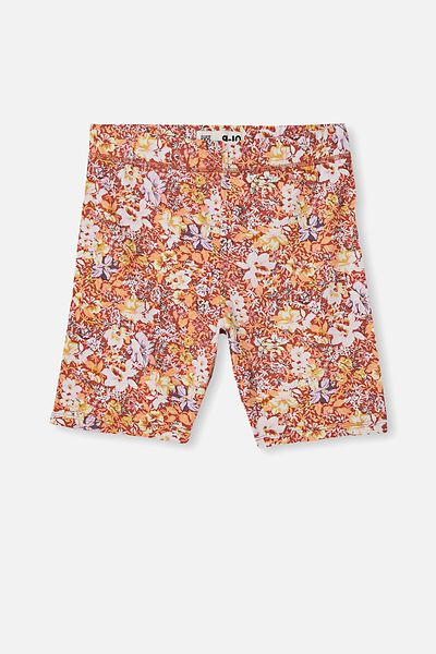Hailey Bike Short, CHUTNEY/ COASTAL FLORAL