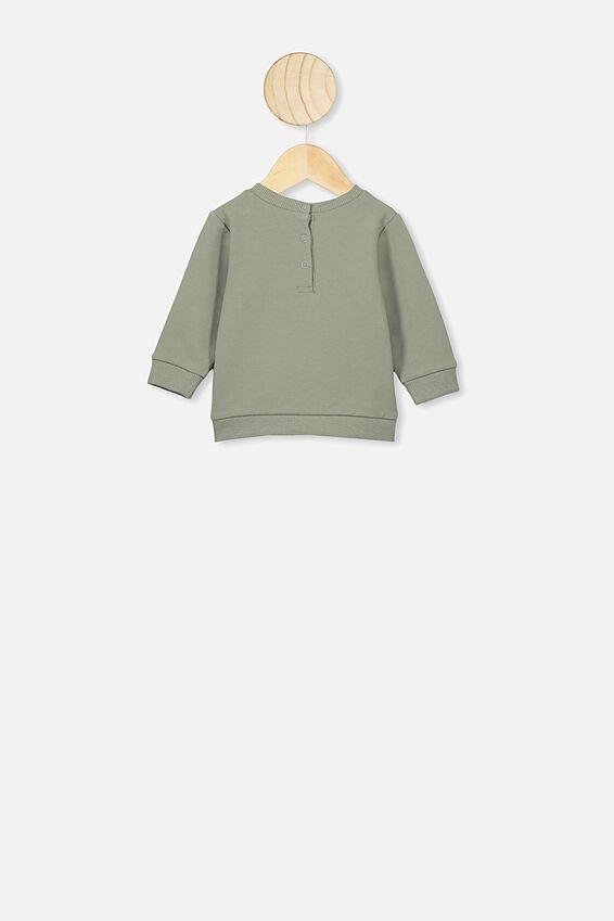 Bobbi Sweater, LCN PRO SILVER SAGE/METALLICA
