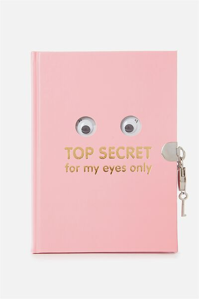 Sunny Buddy Secret Notebook, AVA