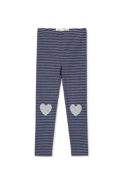Huggie Tights, PEACOAT/STRIPE  PLUS HEARTS