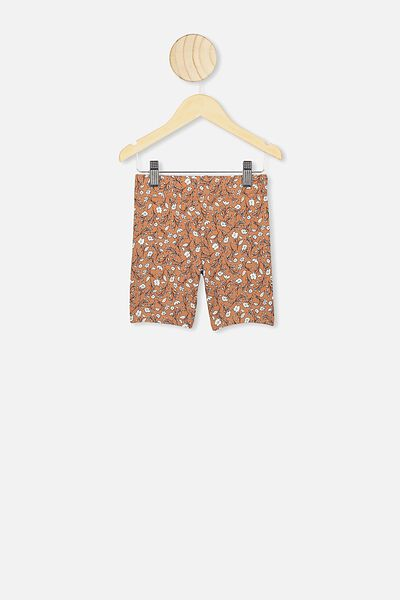 Hailey Short, AMBER BROWN/SPRIGGY FLORAL