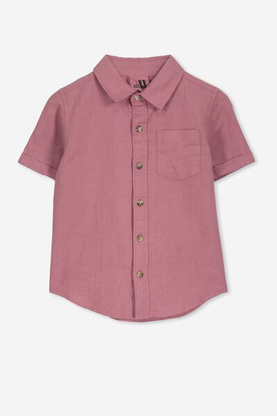 Jackson Short Sleeve Shirt, VINTAGE BERRY