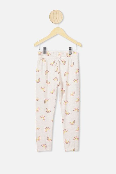Keira Cuff Pant, BLUSH MARLE/RAINBOWS