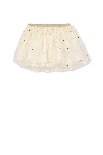 Trixiebelle Tulle Skirt, MILK/STARS