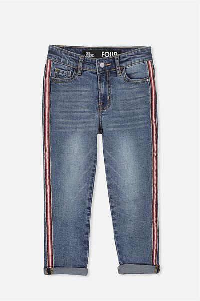 Jagger Slim Leg Jean, STORMY BLUE
