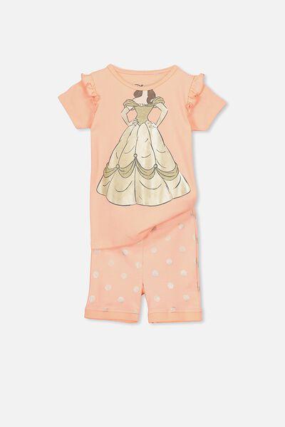 Chloe Girls Short Sleeve PJ Set, I AM BELLE