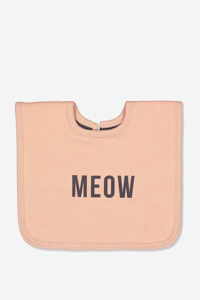 The Everyday Bib, CAMEO BROWN/MEOW