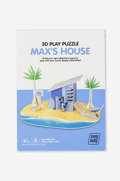Sunny Buddy 3D Puzzle Play, MAX HOUSE
