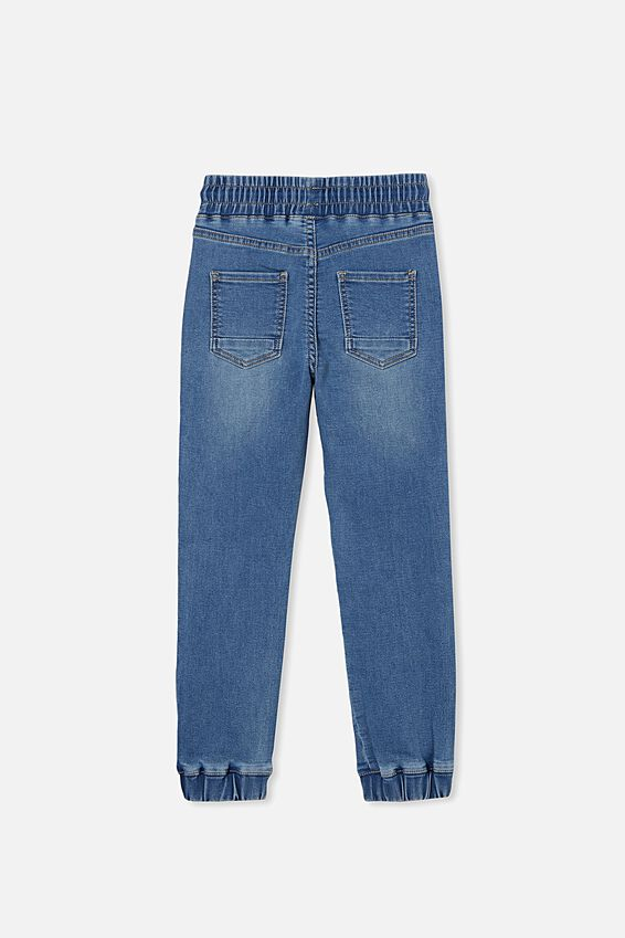 Slouch Jogger Jean, BYRON MID BLUE