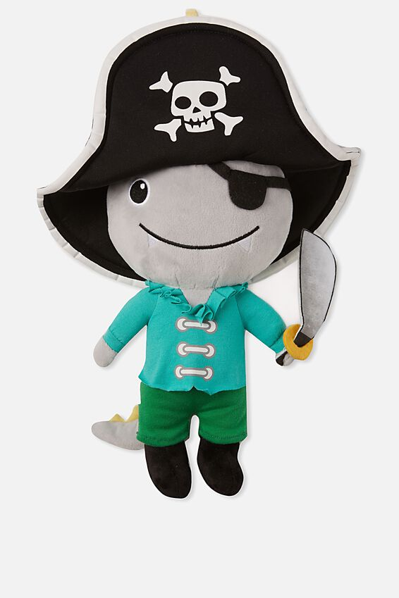 Sunny Buddy Medium Dress Up Soft Toy, JACK PIRATE