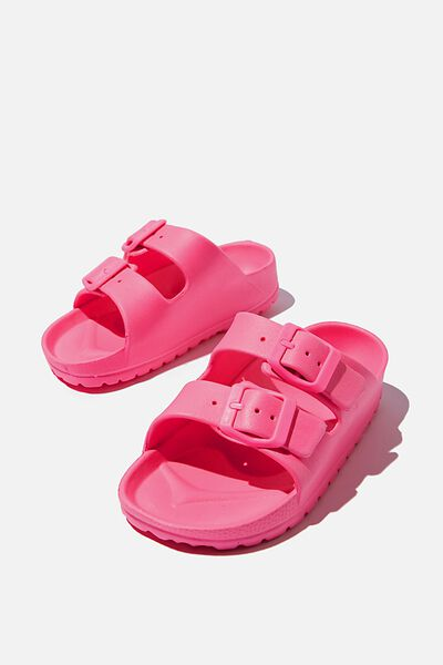 Twin Strap Slide, PINK POP