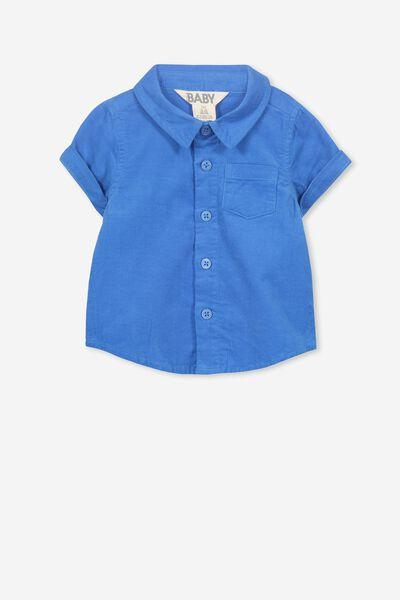 Mack Short Sleeve Shirt, WATER RACEWAY