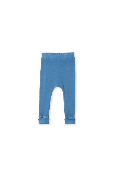 The Waffle Legging, PETTY BLUE