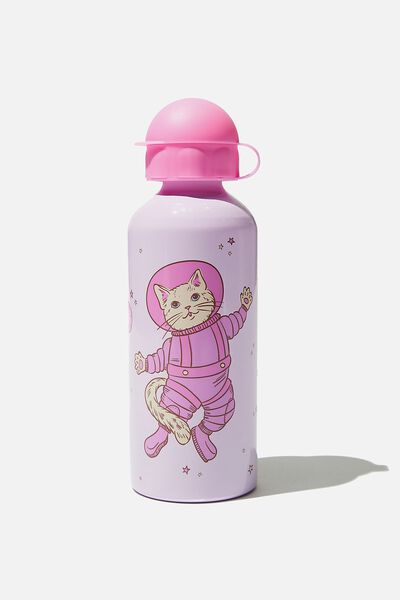 Aluminium Drink Bottle, SPACE CAT