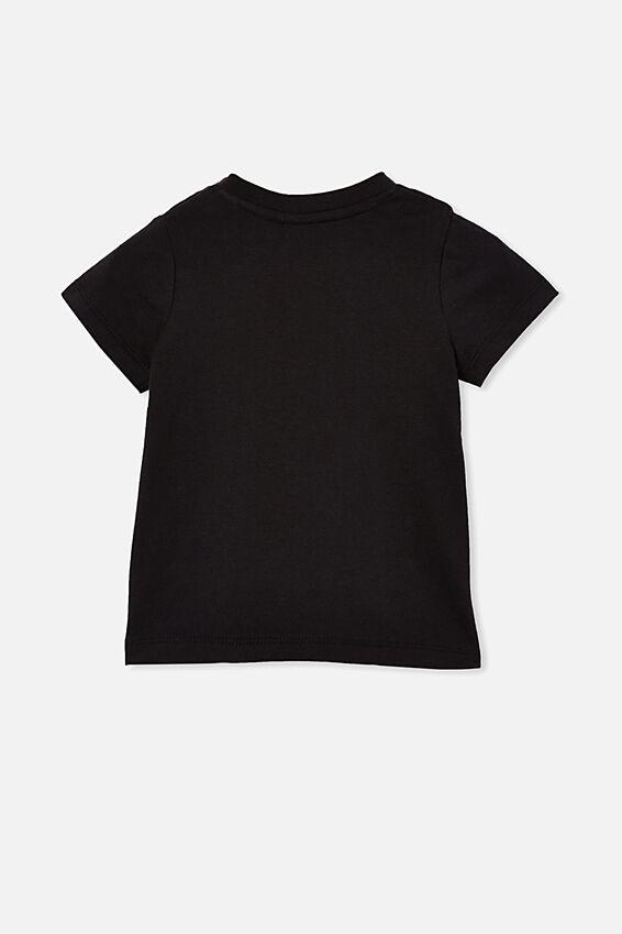 Jamie Short Sleeve Tee-License, LCN BRA BLACK/BEASTIE BOYS - DIAMOND