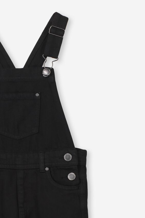 Sam Slouchy Overall, WASHED BLACK