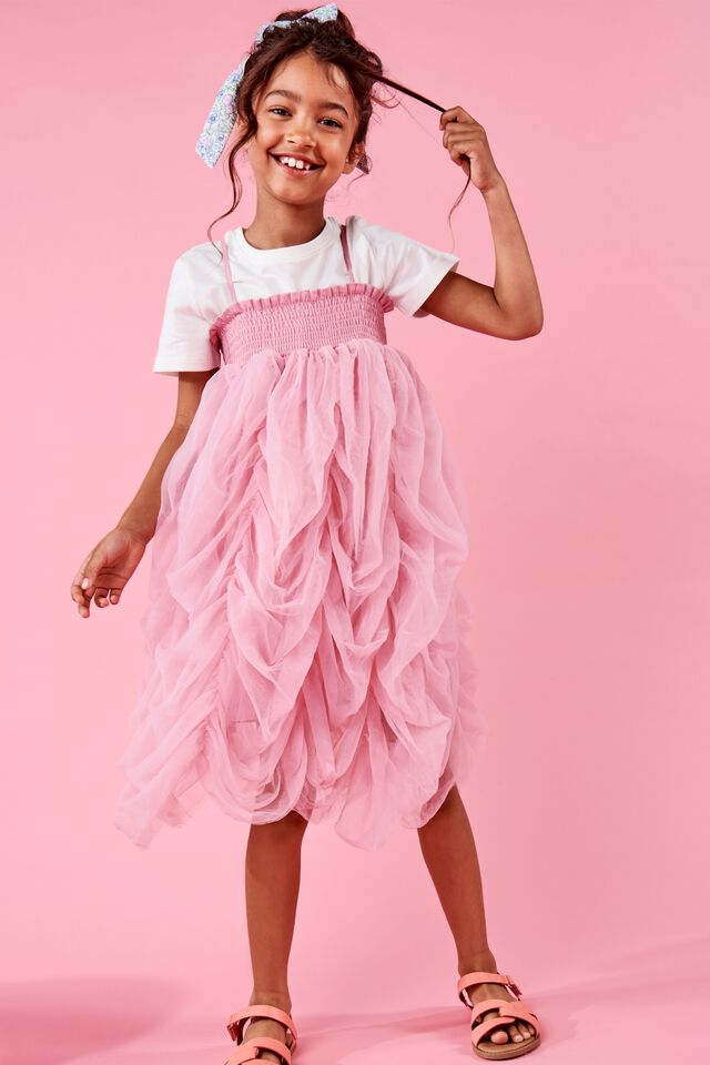 Tilda Two-In-One Dress Up, MARSHMALLOW