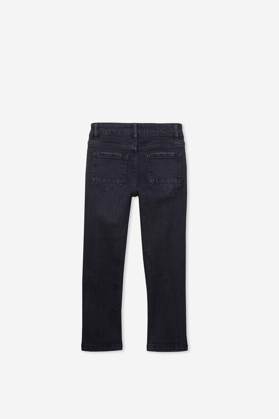 Ollie Slim Leg Jean, BLACK