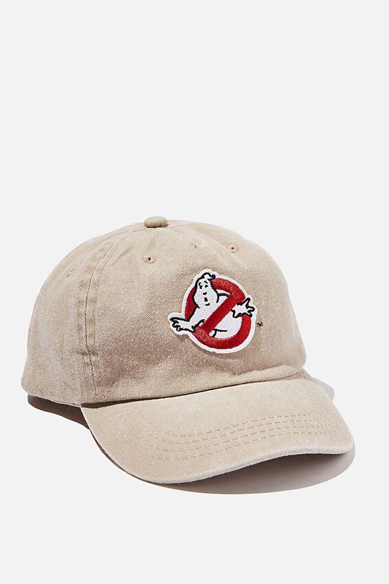 Licensed Baseball Cap Old Style Number, LCN GHOSTBUSTERS