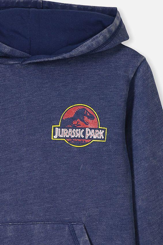 License Hoodie, LCN WB JURASSIC PARK/INDIGO