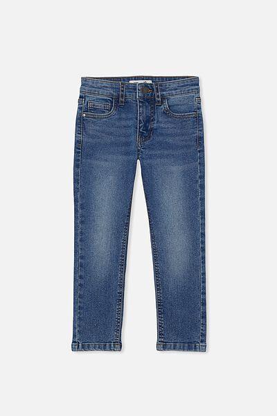 Slim Fit Jean, BONDI MID BLUE