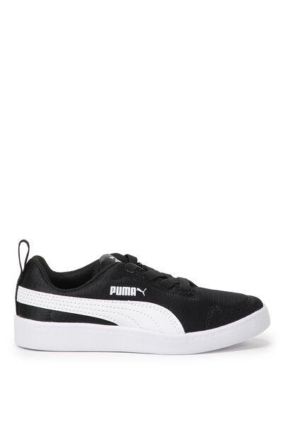 Courtflex Mesh Puma, BLACK WHITE