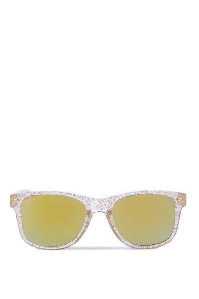 Kids Sunglasses, CLEAR GLITTER