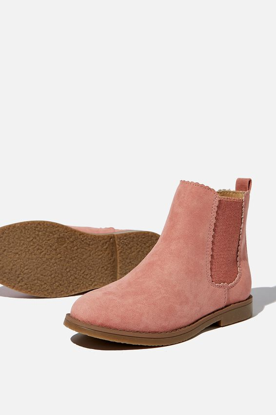 Chelsea Gusset Boots, DUSTY ROSE