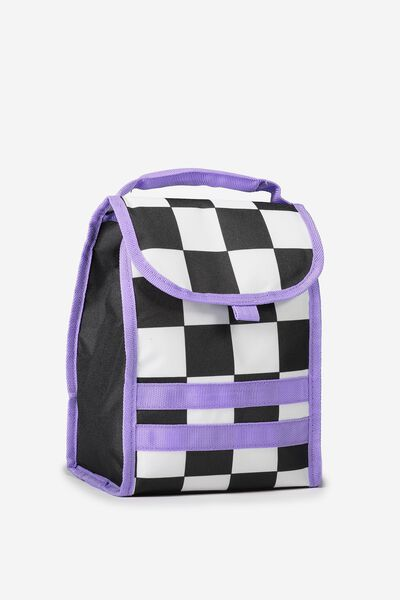 Kids Foldable Lunchbag, CHECKERBOARD