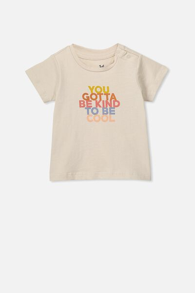 Jamie Short Sleeve Tee, RAINY DAY/YOU GOTTA BE KIND TO BE COOL