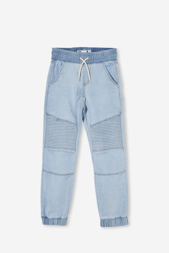 Slouch Jogger Jean, BELLS LIGHT BLUE